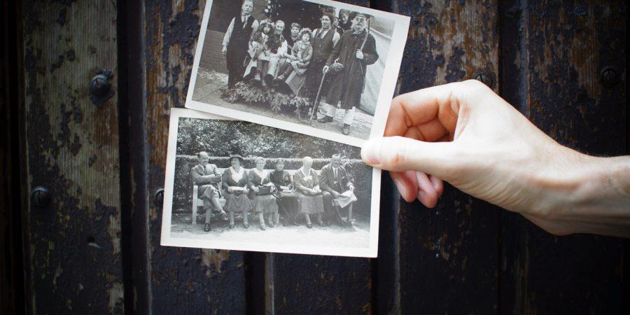 oude foto